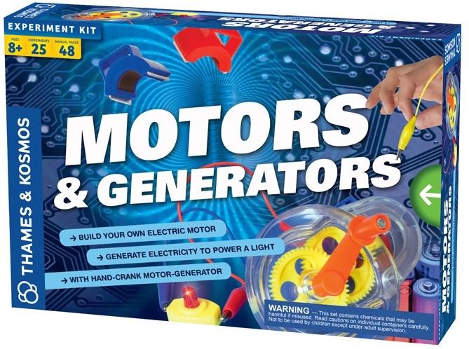Motors Amp Generators Experiment Kit Toy At Mighty Ape Nz