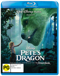 Pete's Dragon on Blu-ray