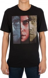 Harry Potter: Faces - Embroidered T-Shirt (Small)