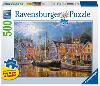 Ravensburger: Ships Aglow - 500pc Glow Puzzle