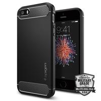 Spigen: iPhone SE/5s/5 Rugged Armour Case - (Black)