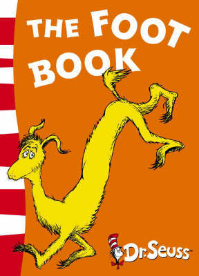 The Foot Book: Blue Back Book by Dr Seuss image