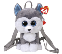 Ty Gear: Slush Huskey - Plush Back Pack