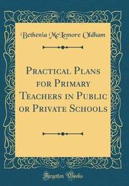 Practical Plans for Primary Teachers in Public or Private Schools (Classic Reprint) by Bethenia McLemore Oldham image