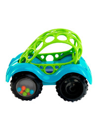 Oball: Rattle and Roll Car - Light Blue