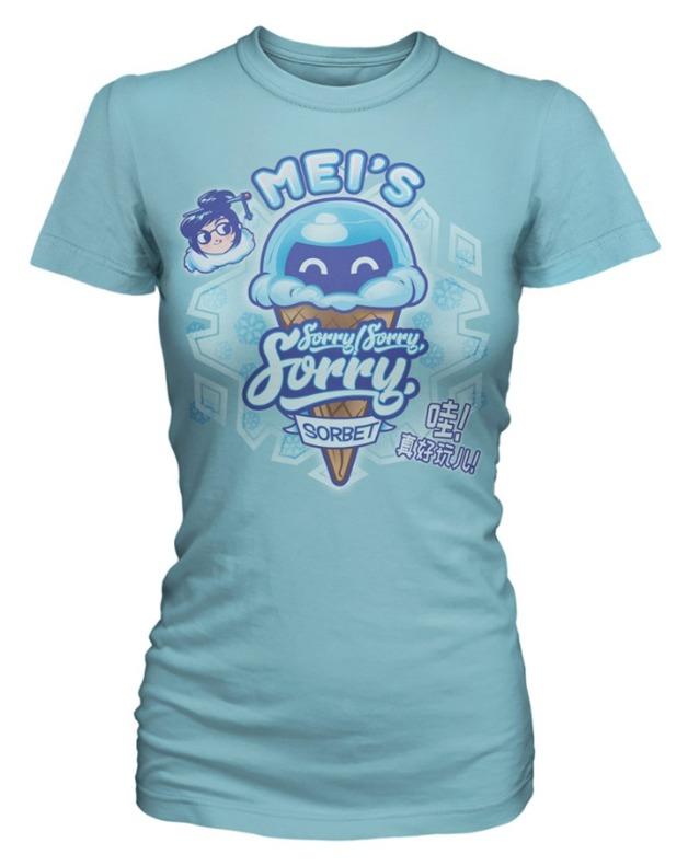 Overwatch: Mei's Sorry Sorbet - Women's T-Shirt (Large)