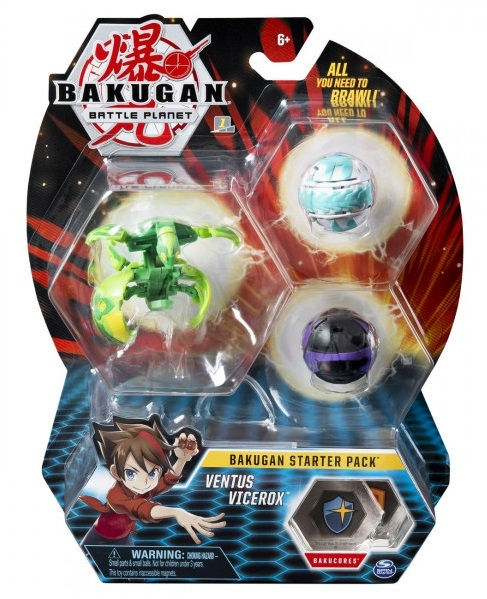Bakugan: Battle Planet - Starter Pack (Ventus Vicerox)