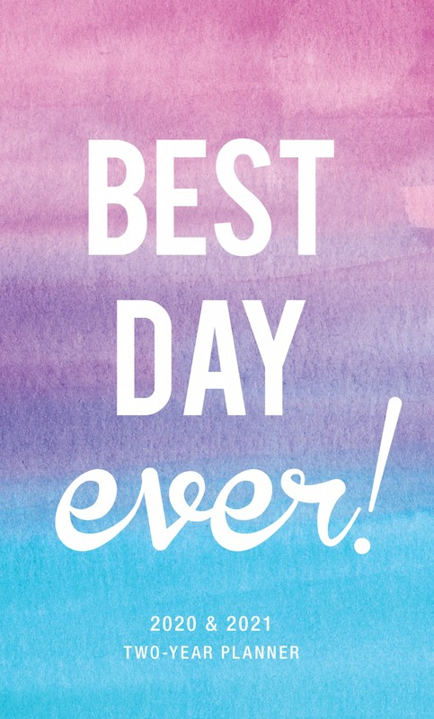 Best Day Ever 2020 2 Year Pocket Planner 2 Year