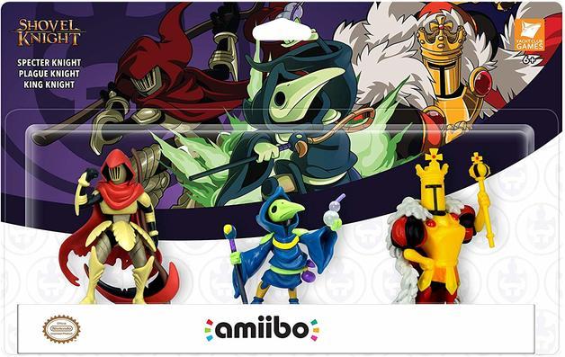 Nintendo Amiibo Shovel Knight: Treasure Trove 3 Pack for Switch