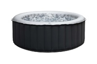 MSpa Silver Cloud Inflatable Portable Outdoor Hot Tub Massage Spa Pool (Up to 6 Adults)