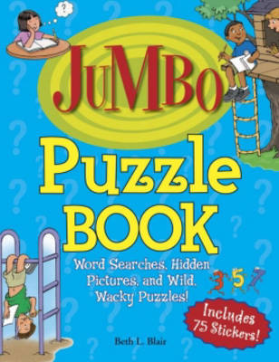 Puzzle Book: Word Searches, Hidden Pictures, and Wild, Wacky Puzzles! by Beth L Blair image
