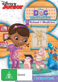 Doc Mcstuffins School of Medicine on DVD