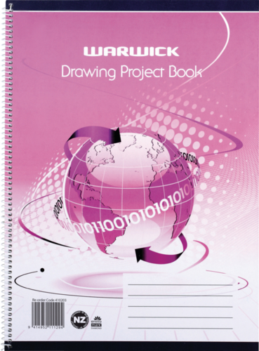 Warwick: Project Book - Spiral Exercise Book image