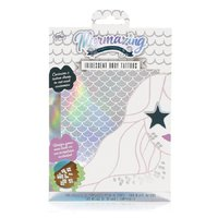 Mermaizing Scale Metallic Temporary Body Tattoo