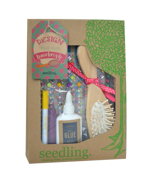 Seedling: Design your own Hairbrush