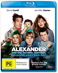 Alexander And The Terrible, Horrible, No Good, Very Bad Day on Blu-ray