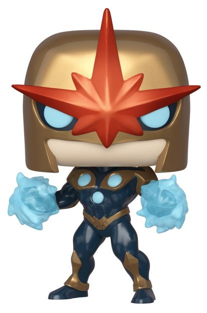 Marvel: Nova (Metallic Ver.) - Pop! Vinyl Figure
