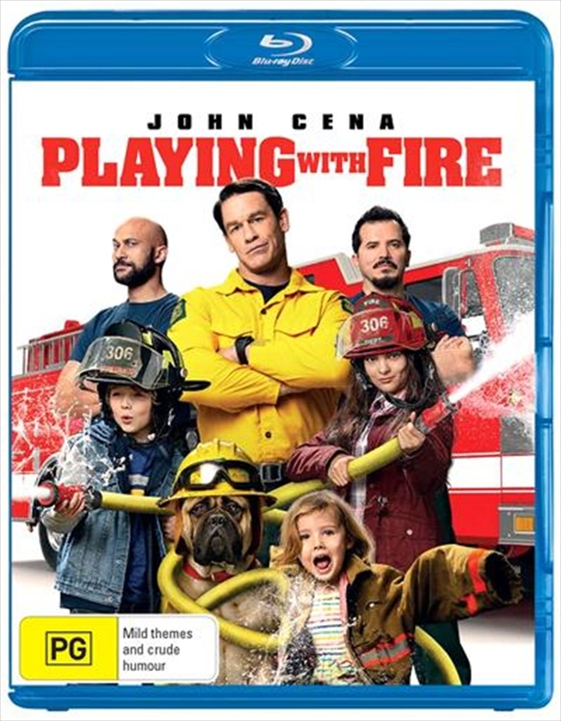 Playing With Fire on Blu-ray