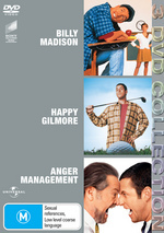 Happy Gilmore / Billy Madison / Anger Management - 3 DVD Collection (3 Disc Set) on DVD