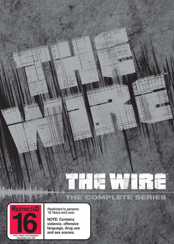 The Wire - The Complete Series Boxset (23 Disc Set) on DVD
