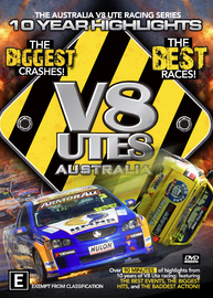 10 Years of V8 Utes Australia on DVD