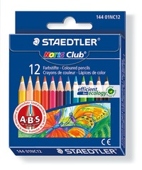 Staedtler Noris Club Colour Pencils Half Pkt12