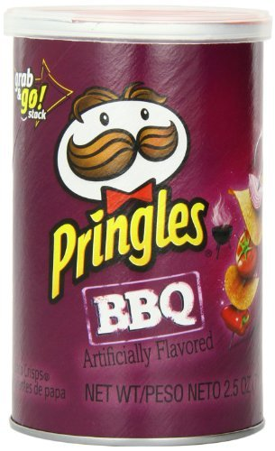 Pringles Grab & Go Small Barbecue 40g 12 pack image