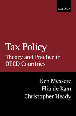 Tax Policy by Ken Messere