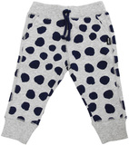 Bonds Hipster Trackie Pants - Spotted Navy (12-18 Months)