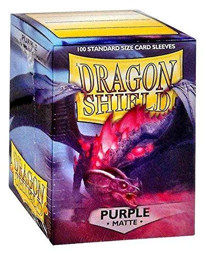 Dragon Shield Matte Purple Card Sleeves