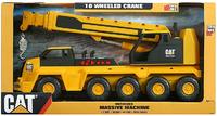 CAT: Massive Machine 10-Wheel Crane image