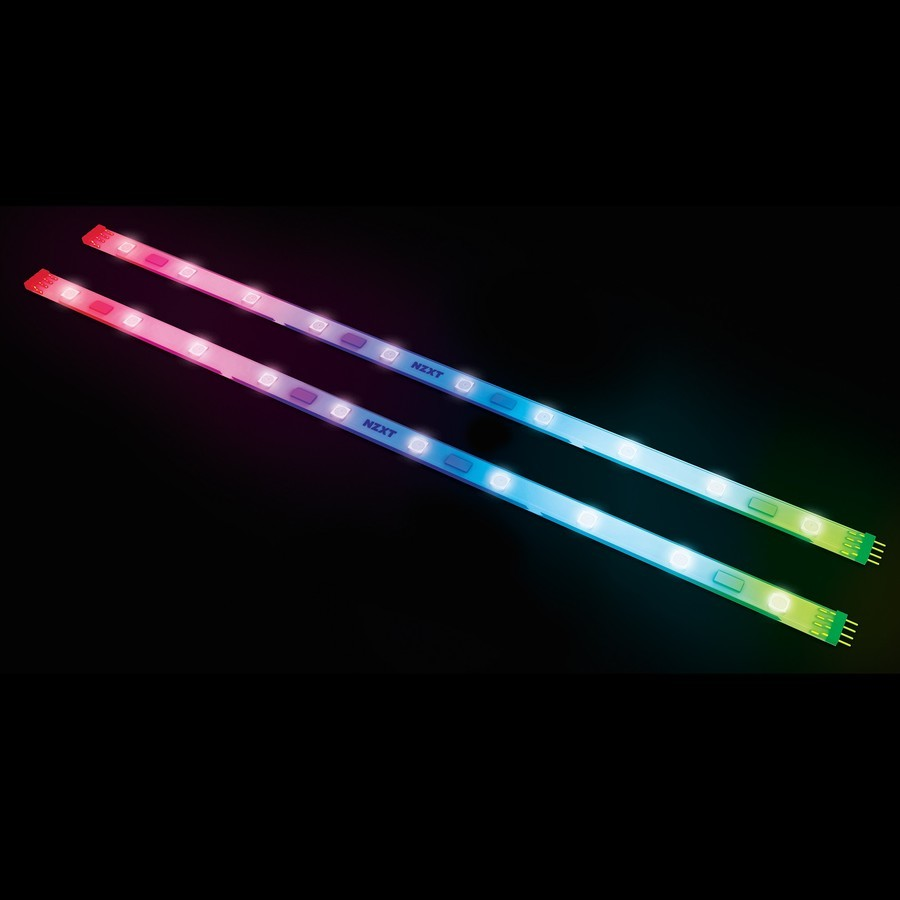 NZXT HUE+ Advanced PC Lighting - White/Purple image
