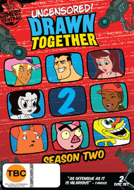 Drawn Together: Season 2 (2 Disc Set) on DVD