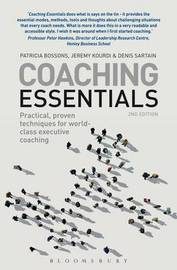 Coaching Essentials by Patricia Bossons