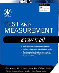 Test and Measurement: Know It All by Jon S. Wilson