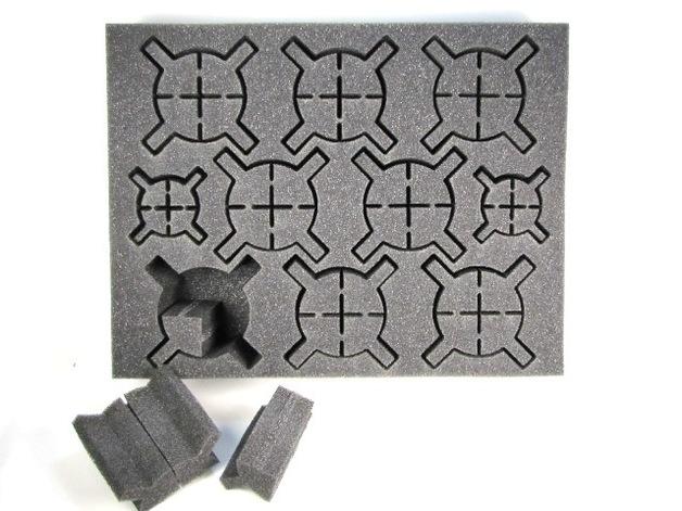 """Battle Foam: Iso Walker/Warjack - Foam Tray (BFL - 2.5"""")"""