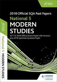 National 5 Modern Studies 2018-19 SQA Specimen and Past Papers with Answers by SQA image