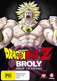 Dragon Ball Z: broly Movie Collection on DVD