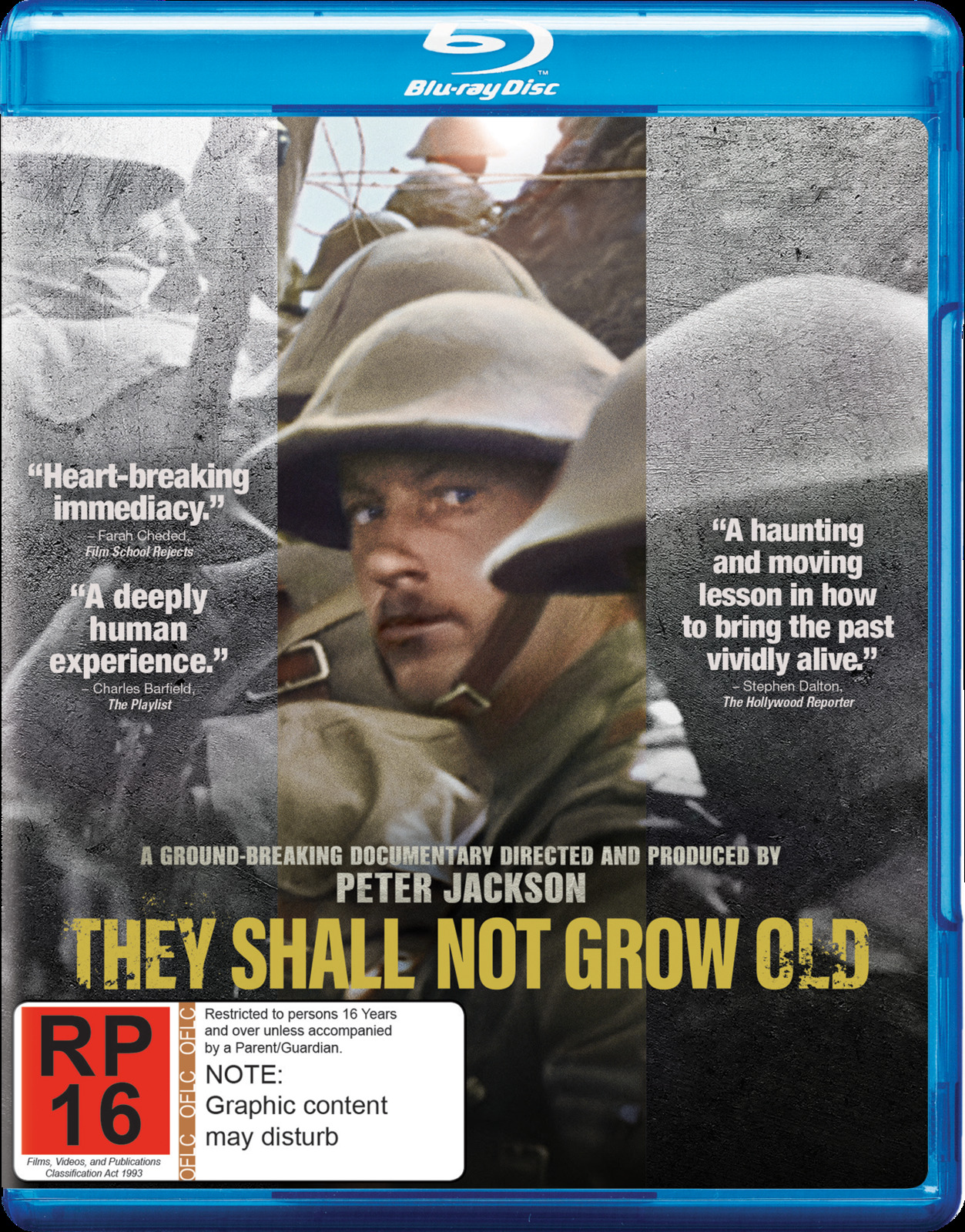 They Shall Not Grow Old on Blu-ray image
