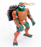 Teenage Mutant Ninja Turtles - Fast Forward Triple Strike Mike