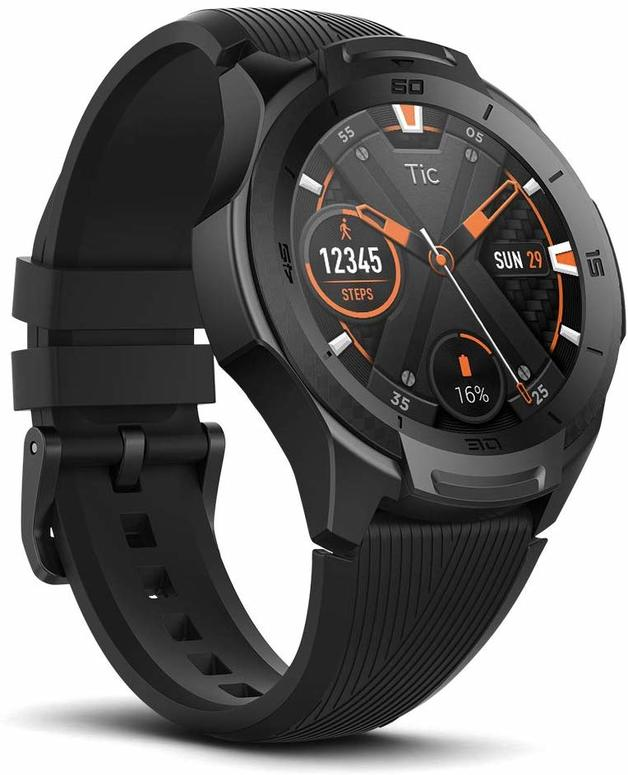 Mobvoi: Ticwatch S2 - Waterproof Smartwatch with Build-in GPS for Outdoor Activities