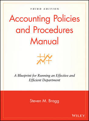 Accounting Policies and Procedures Manual by Steven M. Bragg image