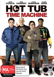 Hot Tub Time Machine on DVD