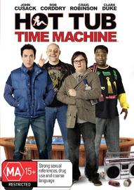 Hot Tub Time Machine on DVD