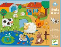 Djeco: Farm Tactile Puzzle