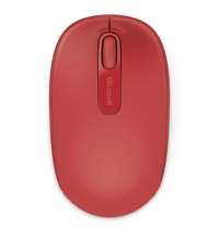 Microsoft Wireless Mobile Mouse 1850 (Red)