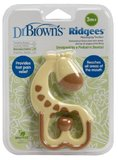 "Dr. Brown's Massaging Teether ""Ridgees"" - Giraffe"