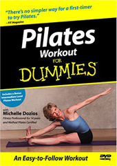 Pilates Workout For Dummies on DVD