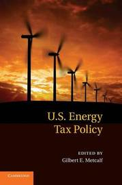 US Energy Tax Policy