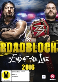 WWE: Roadblock 2016 - End Of The Line on DVD image